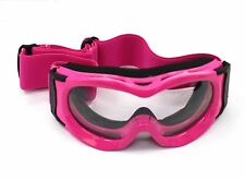 Kids Youth MX Goggles *anti-fog* *UV protection* Dirt Quad Bike Motocross Ski