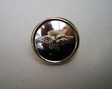 Unidentified Anodised Gold Eagle / Wings Button RAF ? No Crown 16mm