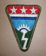 WW2 ERA CBI LEDO ROAD SHOULDER PATCH - OD BORDER