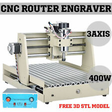3 Axis CNC Router Engraver Engraving Machine Drilling Milling 3040T Cutter Tool