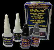 Q BOND QB2 ULTRA STRONG GLUE SUPER ADHESIVE AND FILLER POWDER