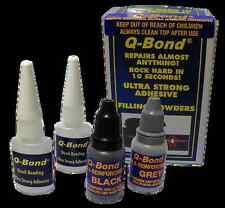 Q BOND QB2 ULTRA STRONG GLUE SUPER ADHESIVE AND FILLER POWDER