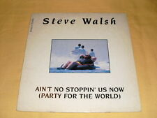 Steve Walsh ‎– Ain't No Stoppin' Us Now  12'' Maxi-single 45 RPM