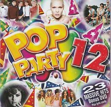 VARIOUS ARTISTS - POP PARTY 12 - CD/DVD Jesse J, Selena Gomez, Ellie Goulding