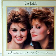 The Judds +++ Heartland+++ 1987 - Stereo LP ‎Vinyl Record  Album 5916-1-R