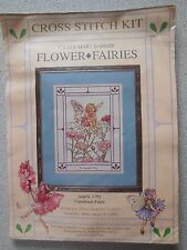 LARGE CROSS STITCH KIT FLOWER FAIRIES 'CANDYTUFT FAIRY' CICELY MARY BARKER *NEW