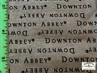 RPA677A Downton Abbey Tv Serious Drama Edwardian UK Cotton Fabric Quilt Fabric