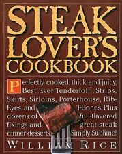 978761100805 William Rice Steak Lovers CookBook