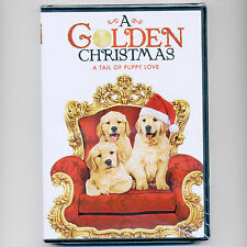 Golden Christmas movie, new DVD Golden Retriever puppy dog Andrea Roth, Brendon