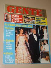 GENTE 1995/33=RANIERI MONACO=ANTHONY QUINN=PIO SCHIANO TORVAIANICA=GIULIA CIRESE