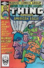 Marvel Two-in-One Annual No.6 / 1981 The Thing and American Eagle Ka-Zar & Zabu
