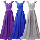 New Chiffon Evening Formal Party Ball Gown Prom Wedding Bridesmaid Dresses