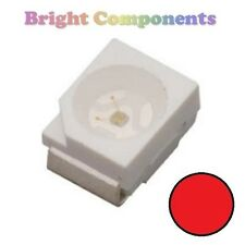 10 X Rojo plcc-2 (Led Smd Smt 3528/1210) - Ultra Brillante-Uk - 1st Class Post