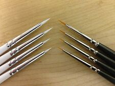 Artists Miniature & Modelmaker fine detail Painting Brushes for Warhammer etc