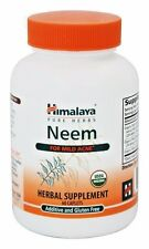 Himalaya NEEM Systemic Purifier - 60 caplets PROSTATE & SKIN SUPPORT- DR MERCOLA