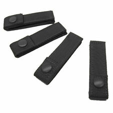 CONDOR MOD MOLLE Straps Set of 4 - 4 inch Black PALS for Chest Rig Plate Carrier