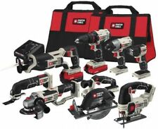 PORTER-CABLE PCCK619L8 20V Max 8-Tool Combo Kit Soft Case New - Free Shipping