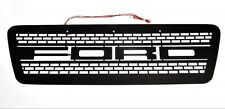 Boost-Bars Black Overlay Grille and LEDs Kit 2004-2008 Raptor F 150