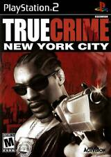 True Crimes New York City PS2 Playstation 2 Game