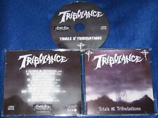 TRIBULANCE - Trials & Tribulances (NEW*LIM.500*US METAL CLASSIC*THROES OF SANITY