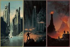 The Lord of the Rings 1 2 3 Movie  Fabric Art Cloth Poster 20inchx13inch Decor43