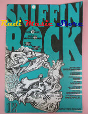 rivista SNIFFIN' ROCK 12 Grant Hart Galaxie 500 Alan Vega Alice Donut  No cd