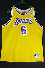 Rare eddie jones angeles lakers talla XL SZ 48 nba camiseta baloncesto Jersey Champion