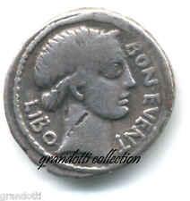 GENS SCRIBONIA DENARIO CAIUS SCRIBONIUS LIBO REPUBBLICA ROMANA ARGENTO 62 A.C.