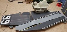 G.I. JOE USS FLAGG Vintage Figure Vehicle Playset Aircraft Carrier 1985