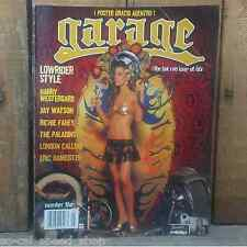 GARAGE MAGAZINE 5 HOT ROD CUSTOM CAR PINUP HARRY WESTERGARD DAVID PERRY RAT BOMB