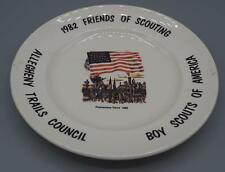 Vintage Boy Scouts BSA 1982 Allegheny Trails Council Promontory Point Plate