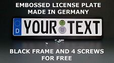 SALE German Germany Euro European License Plate Custom Alu Frame Screw Promotion
