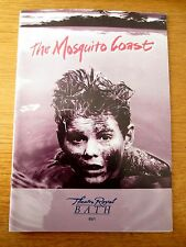 THE MOSQUITO COAST - 1995 BATH THEATRE ROYAL PROGRAMME -THE DAVID GLASS ENSEMBLE