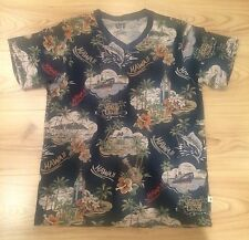 Uniqlo Short Sleeved T Shirt Hawaiian Print Pattern Size S