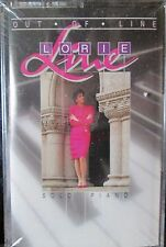New Sealed: Lorie Line Out of Line Solo Piano Cassette tape Free Shipping