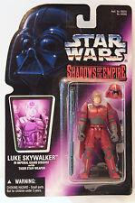 Star Wars  LUKE SKYWALKER in Guard Disguise w/ Taser Staff Weapon 1996 NIB