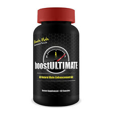BoostUltimate | 60 Capsules | All Natural Ultimate Male Enhancement Aid