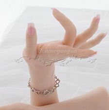 Lifelike Mannequin Hand Dummy Arbitrarily-bent/posed/soft Jewelery Glove Display