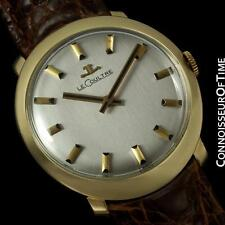 1972 JAEGER-LECOULTRE Vintage Mens Retro Watch - 14K Gold