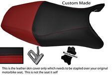 BURGUNDY & BLACK CUSTOM FITS HONDA CBR 1100 XX SUPER BLACKBIRD 96-07 SEAT COVER