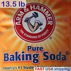 Arm & Hammer Pure Baking Soda - 13.5 LB - Thirteen and a Half Pounds 2-DAY SHIP