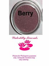 Minerals Berry Blush Bare Makeup Red Brown Plum Mauve Sample Size New/Sealed