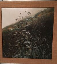 California Field Of Flowers By Half Moon Bay Artist Kenneth Ray Wilson Early