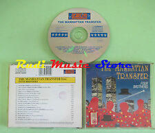 CD THE MANHATTAN TRANSFER Four brothers live 1993 ita STARLITE(Xs1) no lp mc dvd