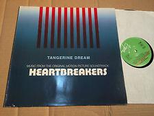 TANGERINE DREAM - HEARTBREAKERS - SOUNDTRACK - LP - VIRGIN 207 212-620 - DE 1985