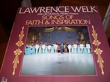 LAWRENCE WELK & HIS MUSICAL FAMILY SONGS OF FAITH & INSPIRATION-LP-NM-I AND M