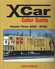 X Car Color Guide, Vol. 3: GROX - NYMX -- (NEW BOOK)