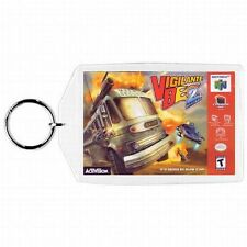 Nintendo 64 N64 VIGILANTE 8 2ND OFFENSE Box Cover Game Cartridge  Keychain New