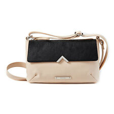Nine West V For Me Crossbody Bag Toasted Oat