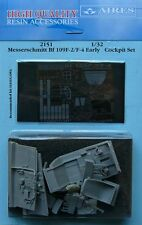 Aires 1/32 Messerschmitt Bf109 F-2 / F-4 Early Cockpit Set for Haseagawa # 2151
